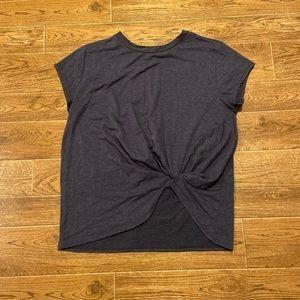 Botanique | Gathered cinch tshirt